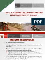 Gestion Descentralizada de Las Redes Departamental y Vecinal