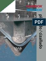 Plegado y Cizallado de Placa Hardox y Weldox