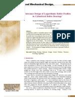 NTN_Tolerance Design of Logarithmic Roller Profile in CRB