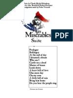 Les Miserables Suite-De Lux Orchestra Score