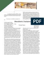 Manifesto Dada