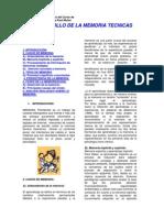 Dossier - Desarrollo Tecnicas de La Memoria