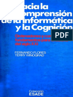 Flores Fernando - Hacia La Comprension de La Informatica Y La Cognicion