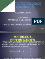 Presentación Matrices 2012