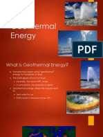 Geothermal Energy Presentation