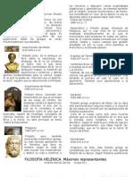 Filósofos griegos