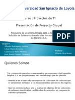 Presentacion Proyecto (Entrega 1) v3