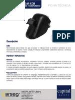 ARSEG Careta Para Soldar Con Portavidrio Levantable Ref9011