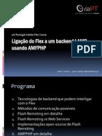 Integrando FLEX com PHP