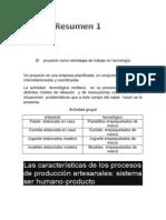 El Proyecto Como Estrategia de Trabajo en Tecnología