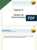 3.- Gestion de Active Directory