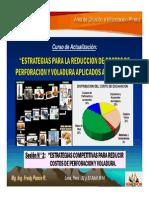 Sesión 2 - Estrategias Competitivas Para Reducir Costos de Perforacion y Voladura (22-Abr-14)