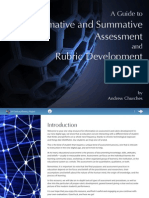 Assessment and Rubric Design