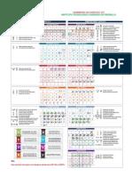 Calendario Escolar 2012 2013 Itsf 1