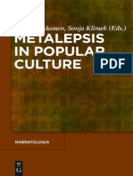 Kukkonen, Karin and Klimek, Sonja (Ed.) - Metalepsis in Popular Culture