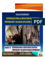 Sesión 6 - Estrategias Reduccion Costos de Perforacion y Voladura en Minas Subterraneas (23-Abr-14)