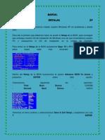 Manual Como Instalar Xp