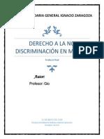 Discriminacion en Mexico Producto Final