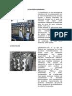 Filtración Por Membranas