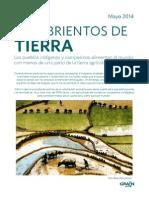 Grain 4956 Hambrientos de Tierra Los Pueblos Indigenas y Campesinos Alimentan Al Mundo Con Menos de Un Cuarto de La Tierra Agricola Mundial