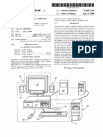 Interactive, remote, computer interface system (US patent 6101534)