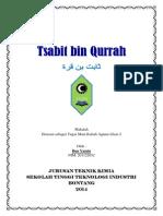 Tokoh Ilmuwan Muslim Tsabit Bin Qurrah
