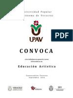 Conv. Lic. Educ. Artística Coatzacoalcos