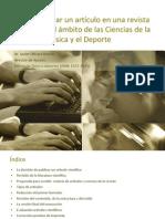 1 Cómo Publicar Artículo en Revista de Ciencias Actividad Física y El Deporte