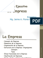 La Empresa 1_Resumen Ejecutivo