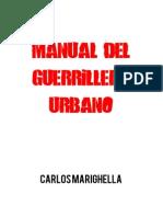 Manual Del Guerrillero Urbano - Carlos Marighella