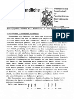 Westdeutsche Gesellschaft für Familienkünde Bezirksgruppe Trier