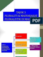 Topik 3 Masyarakat Pluralistik Alam Melayu