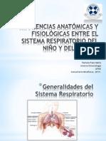 Diferencias Aparato Respiratorio Niño-Adulto