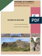 GEOLOGIA Cajamarca Revisar Para Completar Trabajo