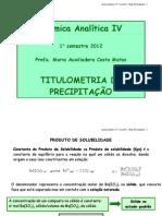 Aula 6 Quimica Analitica IV Curso Farmácia 2012.1