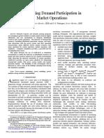Chassin and Widergren - 2009 - Simulating Demand Participation in Market Operatio