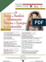 Convegno Allattamento Milano