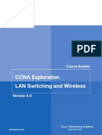 Cisco CCNA Exploration Course Booklet - LAN Switching and Wireless V4