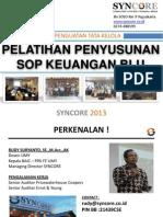 Penyusunan Sop Keuangan Blu 28 30 Oct 2013 (1)