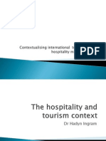 Session 1- The Hospitality and Tourism Context