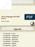 02 Java Language and OOP Part II