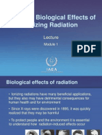 Module 1_Basics of Biological Effects of Ionizing Radiation