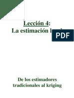 04 - Estimación Local