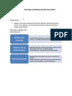 Lineamientos Para La Defensa de Practica Clinica