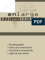 How To Enlarge Small Spaces Slides