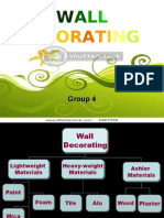 Wall Decorating- slides
