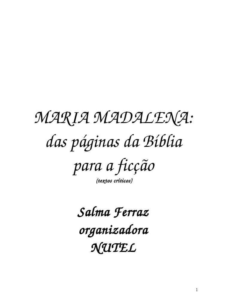 Maria Madalena   PDF   Maria Madalena   Ressurreição de Jesus