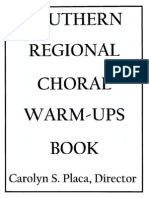 choral warm-up book