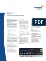 To View the Model 1260A Impedance Gain Phase Analyzer PDF Click Here