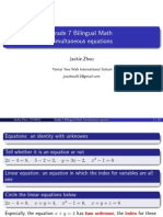 simultaneous equations